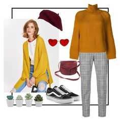 """yellow"" by samgumgee on Polyvore featuring Alexander Wang, FABIANA FILIPPI and Vans"