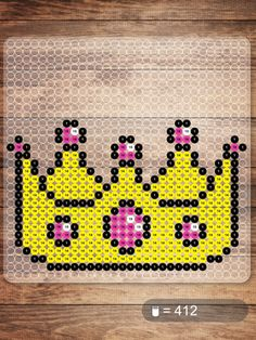 Crown NABBI beads pattern