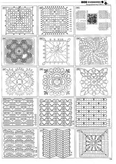 Over 1400 crochet diagrams for motifs,edgings,flowers and crochet stitches... all in diagram or chart form!!