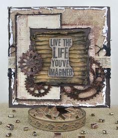 """""""Live the Life"""" Card ~ DT for Donna Salazar - Scrapbook.com"""
