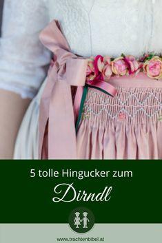 5 tolle Hingucker zum Dirndl  - so peppst Du Dein Dirndl auf #stylingtipp 10 Item Wardrobe, German Fashion, Fashion Shoot, Style Me, Tulle, Chic, Handmade, Outfits, Inspiration