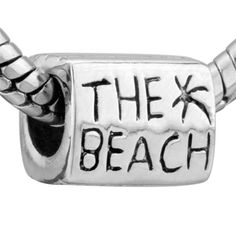 Pugster The Beach Charm Bead – Pandora Charms Bracelet Compatible