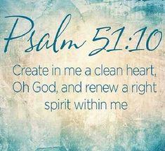 Psalm 51:10