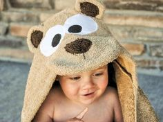 Crazy Little Projects: Teddy Bear Towel Tutorial
