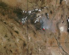 Fourmile and Silver fires, Arizona and New Mexico