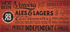 R & B Brewing Co. | Vancouver's Award Winning Local Microbrewery www.r-and-b.com