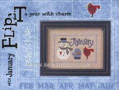 Buy January Flip-It With Charm Online at www.sewandso.co.uk