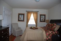 Master bedroom in Townhouse