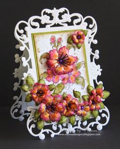 Heartfelt Creations Wednesday - Arianna Blooms Card