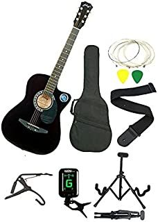 March 15 2020 At 01 54pm Jixing Jxng Blk Sc1black Acoustic Guitar With Kadence Foldable Guitar Standkadence Tuner Guitar Cool Guitar Best Guitar For Beginners