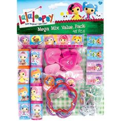 LaLaLoopsy Mega Mix Value Favor Pack Pieces Birthday Party Supply - deal of the week 75th Birthday Parties, Construction Birthday Parties, Construction Party, Farm Birthday, Birthday Party Favors, Party Favours, Birthday Banners, Birthday Invitations, Hungry Caterpillar Party