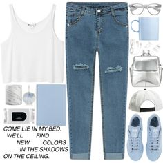 GK by meloissa on Polyvore featuring Monki, adidas, Kin by John Lewis, H&M, Retrò, River Island, MAC Cosmetics, Rosenthal, Crate and Barrel and StreetStyle