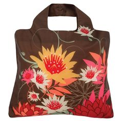 These reusuable bags are cute and practical, and role up with a snap.  Plus, they come in all sorts of designs!
