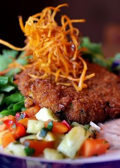 Pecan-Crusted Crab Cakes with Chipotle Remoulade > Canyon Cafe Cafe Food, Crab Cakes, Special Recipes, Restaurant Recipes, Fish And Seafood, Copycat Recipes, Pecan, Food And Drink, Beef