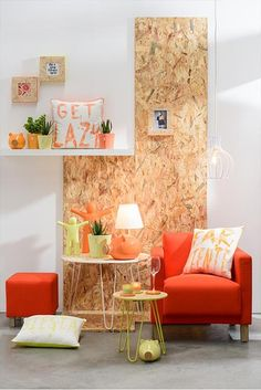 You can't miss the collection by OSB has a and look. The bright, almost fluorescent colour accents will your completely. And don't forget the matching money boxes, cushions and flowerpots! Fluorescent Colors, Money Box, Accent Colors, Flower Pots, Cushions, Interior, Inspiration, Modern, Collection