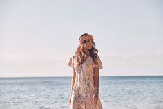 Dahlia Frill Sleeve Day Dress Blush