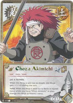 2009 Naruto A New Chronicle #N516 Choza Akimichi R