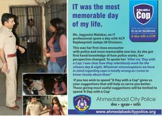A Day With a COP #ahmedabadpolice