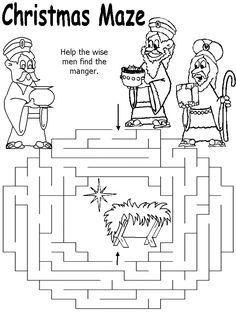 La Escuela de Ingles de Eva: Help the wise men find the manger