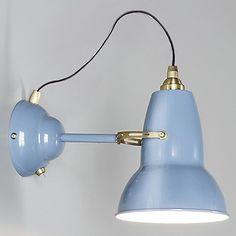 Original 1227 Brass Wall Light by Anglepoise at Lumens.com
