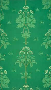 Meadowsweet Wallpaper, William Morris and Co., © V Images/Victoria and Albert Museum, London... and available for printing onto blinds
