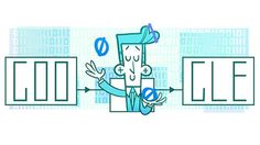 Google Doodle celebrates 'father of information theory' – Claude Shannon's 100th birthday as it demonstrates him juggling the numbers 0 and 1