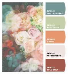 sophisticated wedding party scheme English countryside traditional furniture living room dining room office guest room burgundy pink orange sage green warm blue Paint colors from #ChipIt by #SherwinWilliams