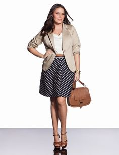 5 plus size outfits for a job interview - plus size fashion for women