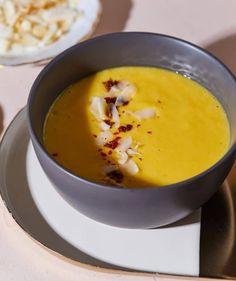 Mangókrémleves 4db Gazpacho, Naan, Fondue, Smoothie, Cheese, Ethnic Recipes, Kitchen, Cooking, Kitchens