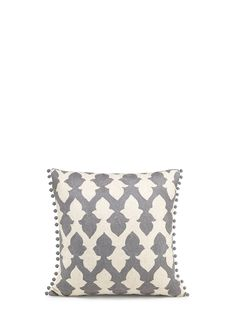 NIKI JONES - Cushion - Lattice | Basics Bedding | Home & Lifestyle | Lane Crawford - Shop Designer Brands Online