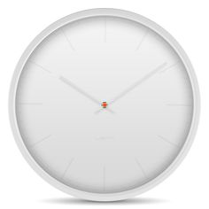 Tone Wall Clock in White by Leff