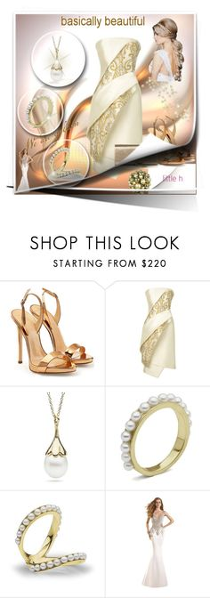 """""""Celebrate the new Year with LITTLE h JEWELRY: Contest with prizes!"""" by suadapolyvore ❤ liked on Polyvore featuring Giuseppe Zanotti, Bibhu Mohapatra, Tarik Ediz, Yves Saint Laurent, pearljewelry and littlehjewelry"""