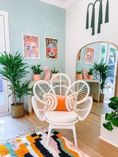Boho Room, Boho Living Room, Living Room Decor, Home And Living, Rooms Home Decor, Bedroom Decor, Interiores Art Deco, Aesthetic Bedroom, Living Room Inspiration