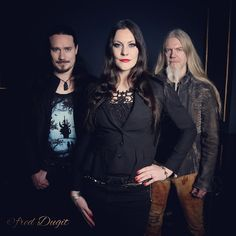 Tuomas, Floor and Marco. Photo by Fred Dugit.