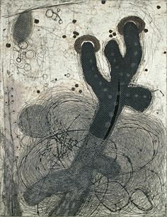 Akiko Taniguchi : Long, Deeply and Far at Davidson Galleries Collagraph Printmaking, Davidson Galleries, Organic Art, Artist Sketchbook, Art Corner, Funny Drawings, Collaborative Art, Black And White Drawing, Japanese Prints