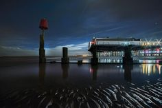 3 Cleethorpes Pier at Night taken by Bob Riach