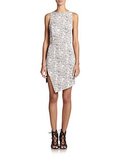 Line & Dot - Nagel Printed Dress