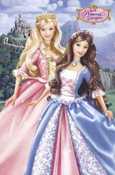 Barbie Princess Pauper Two Nice Dolls