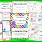 This 3rd Grade Math Common Core Standards Management System is the perfect companion to every 3rd grade teacher!  This set contains120 pages of e...