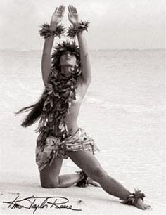 Kim Taylor Reece, Hawaii's foremost fine art photographer, has been studying hula kahiko for nearly 30 years. A catalyst of Hawaii's Cultural Renaissance, his photography captures the myst