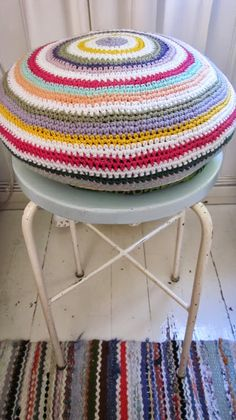 Crochet cushion