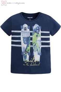 Boys Skateboard T-Shirt in Nav Basic Wardrobe Essentials, Wardrobe Basics, Summer Essentials, Young Boys Fashion, Boy Fashion, Spring Outfits, Kids Outfits, Navy Shop, Stylish Boys