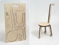 Living Edge Blog — Now that's a flatpacked chair…