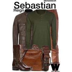 Inspired by Torrance Coombs as Sebastian on Reign.