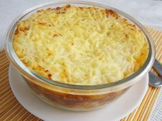 Pastel de patatas y atún