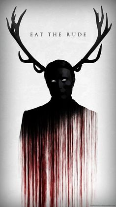 Hannibal eat the rude Hannibal Lecter, Hannibal Tv Series, Nbc Hannibal, Hannibal Wendigo, Hannibal Quotes, Arte Horror, Horror Art, Horror Movies, Hannibal Wallpaper
