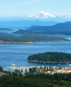 San Juan Islands, North Puget Sound, Washington State, USA