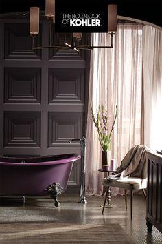 Pool Bathroom, Master Bathroom, Bathrooms, Standing Bath, Glass Sink, Can Design, Bathroom Styling, Comfort Zone, Traditional Design