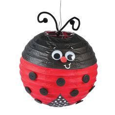 Bring these Do It Yourself Lanterns to life with unique designs and embellishments! Class Decoration, School Decorations, Hat Crafts, Diy And Crafts, Lady Bug, Lantern Craft, Red Day, Holiday Crafts For Kids, Hand Puppets