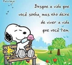 😃 Tente e lute pelos seus sonhos Snoopy The Dog, Snoopy E Woodstock, Snoopy Love, Happy Week End, Suit Card, Book Images, Any Book, Funny Animal Pictures, Good Books